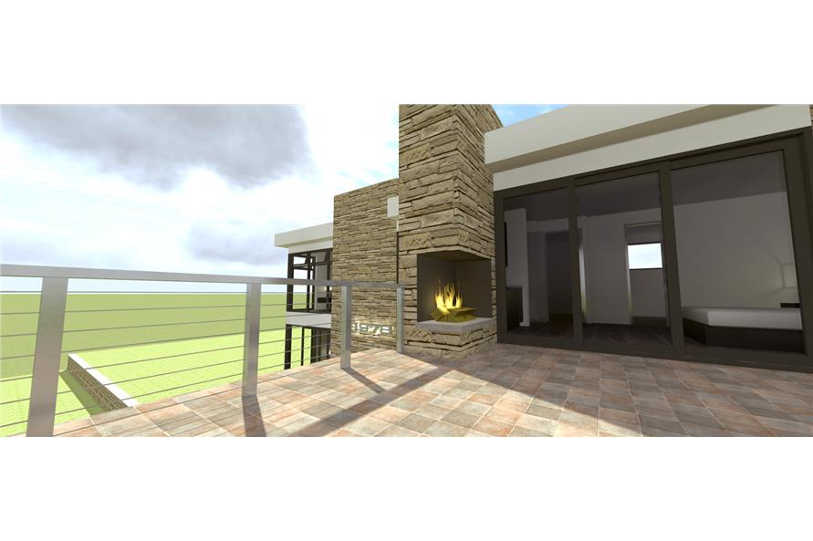 Home Plan 3D Image of this 3-Bedroom,2269 Sq Ft Plan -2269