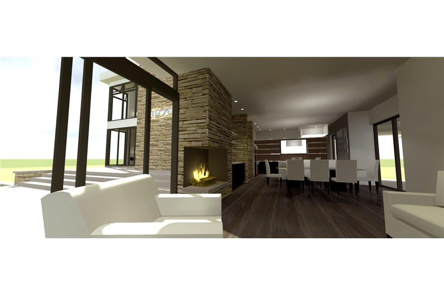 116-1100: Home Plan 3D Image