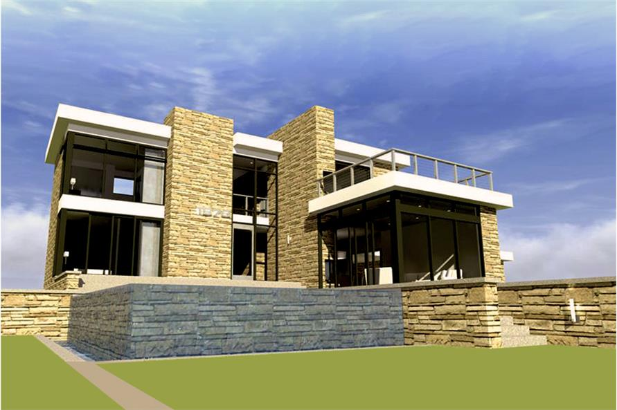 Home Plan Rendering of this 3-Bedroom,2269 Sq Ft Plan -2269