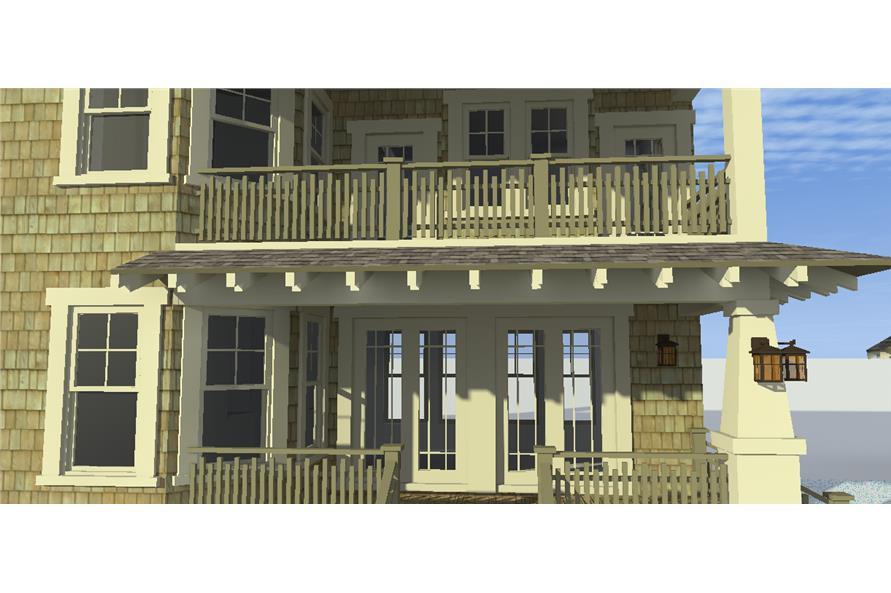 116-1102: Home Plan 3D Image-Porch