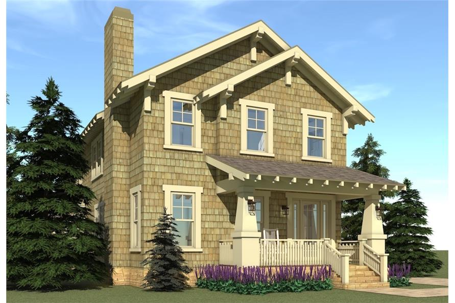 116-1102: Home Plan Rendering