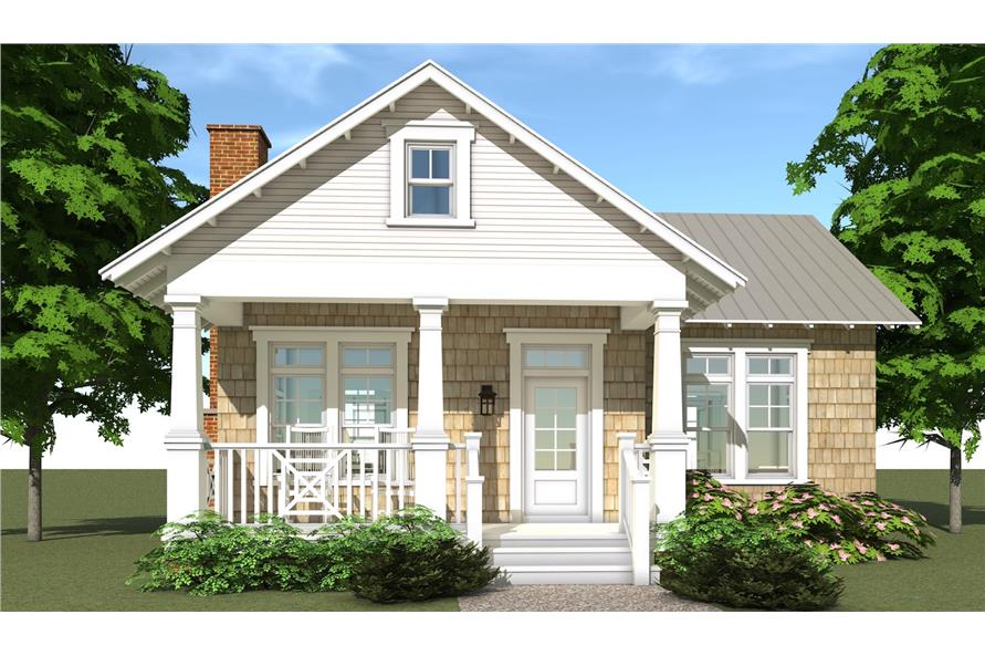 Home Plan Rendering of this 1-Bedroom,841 Sq Ft Plan -841