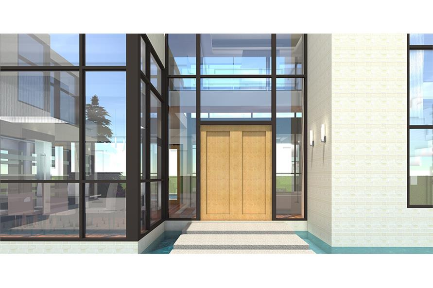 Front Door of this 5-Bedroom,5165 Sq Ft Plan -5165