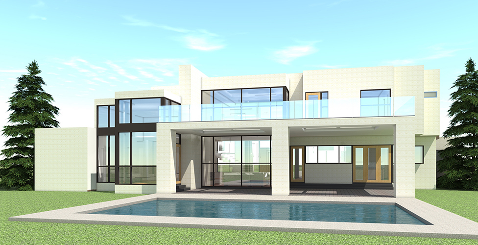 5 Bedroom Modern House Plan - 5165 Sq Ft, Plan #116-1106