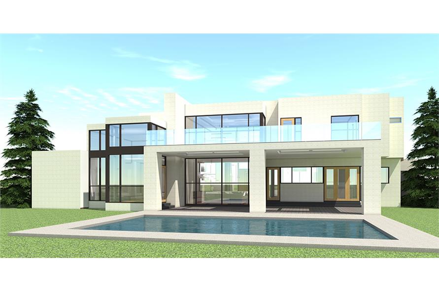 116-1106: Home Plan Rendering