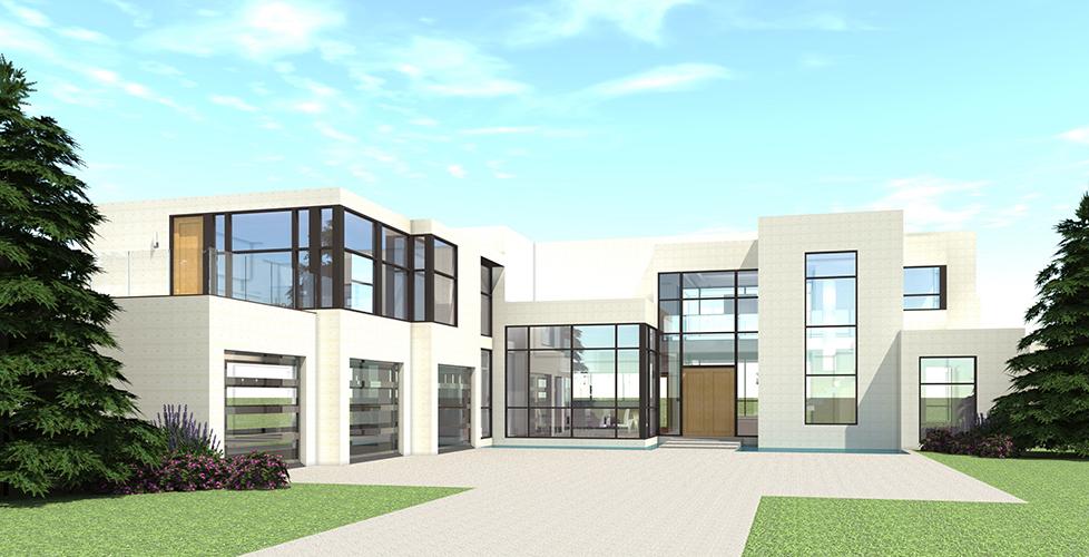 5 Bedrm, 5165 Sq Ft Concrete Block/ ICF Design House Plan ...
