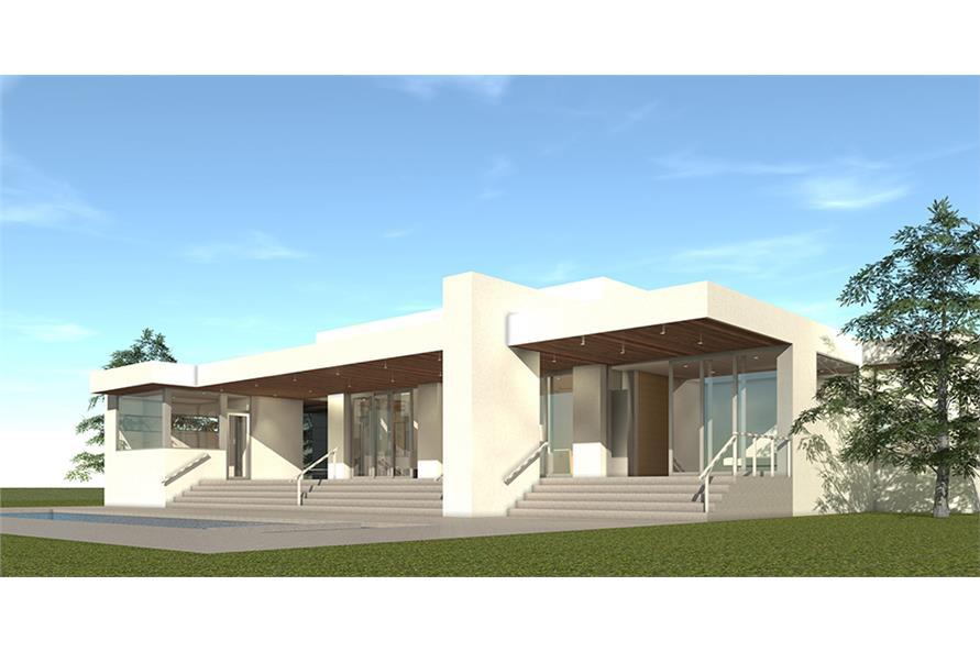 Home Plan Rendering of this 4-Bedroom,3304 Sq Ft Plan -3304