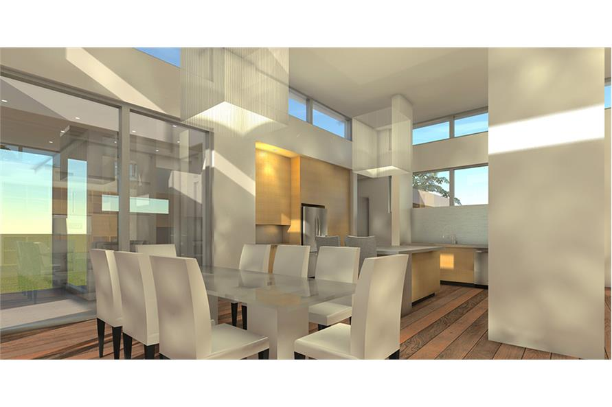 Dining Room of this 4-Bedroom,3304 Sq Ft Plan -3304