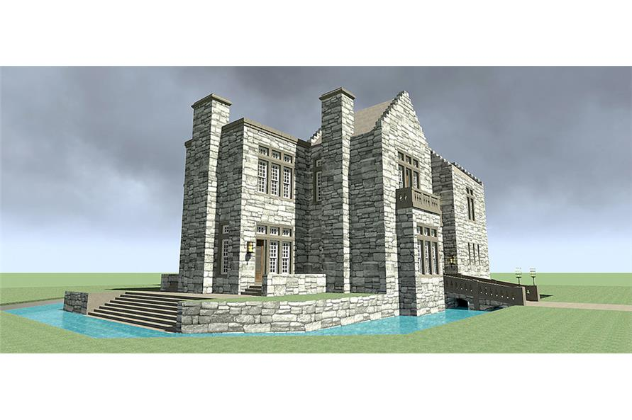 Home Plan Rendering of this 3-Bedroom,4357 Sq Ft Plan -4357