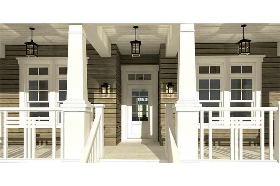 Porch of this 4-Bedroom,2845 Sq Ft Plan -2845