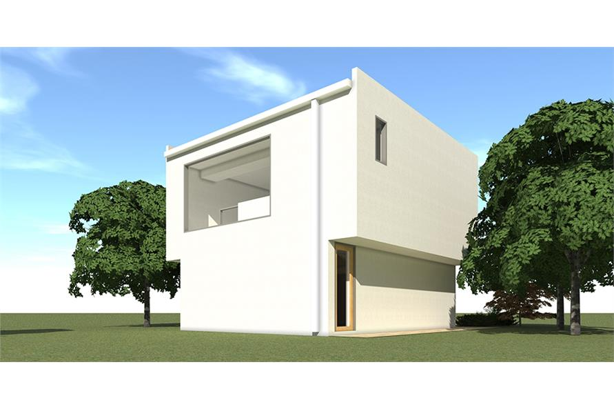 Home Plan Rendering of this 1-Bedroom,784 Sq Ft Plan -784