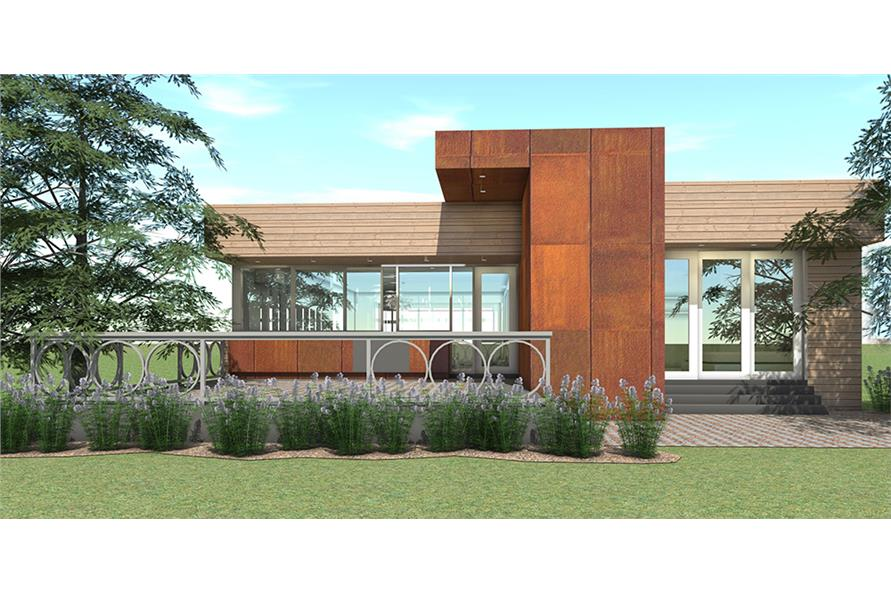 Home Plan Rendering of this 4-Bedroom,2623 Sq Ft Plan -116-1118