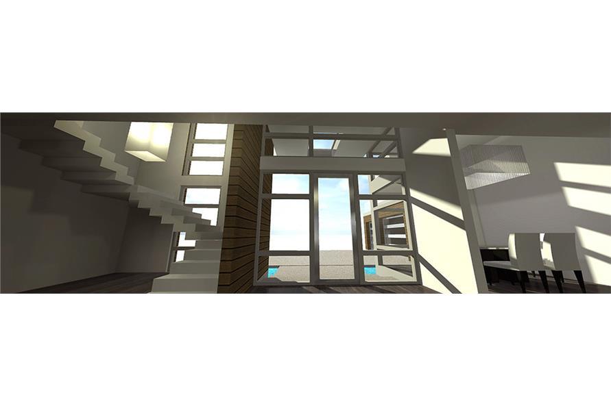 Front Door of this 4-Bedroom,3166 Sq Ft Plan -3166