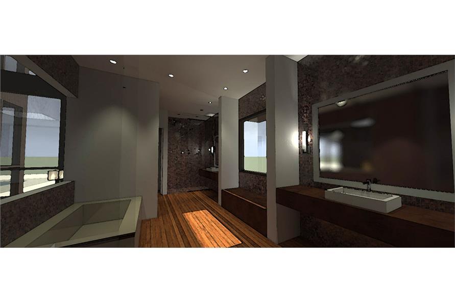 Bathroom of this 5-Bedroom,5165 Sq Ft Plan -5165