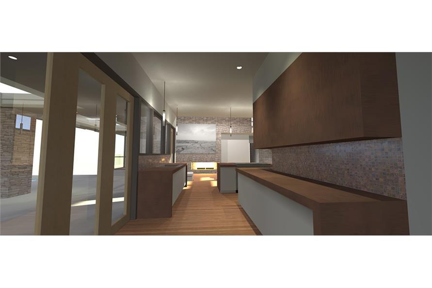 Home Plan Rendering of this 5-Bedroom,5165 Sq Ft Plan -5165