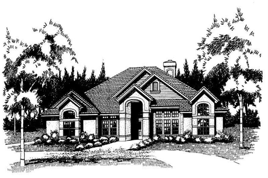 Main image for house plan # 20777