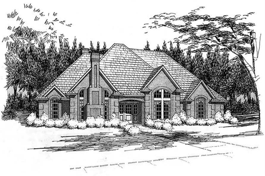 Main image for house plan # 20781