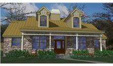Main image for house plan # 20756