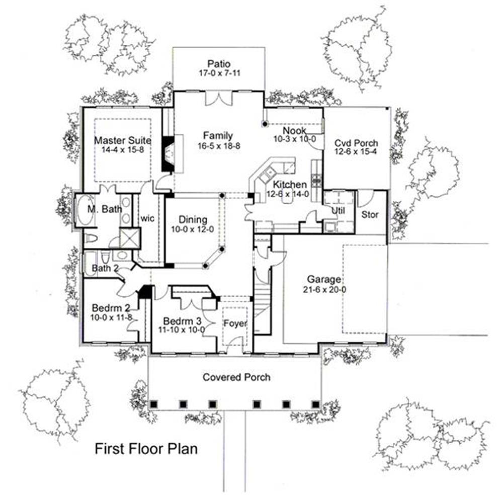 117-1010: Floor Plan Main Level