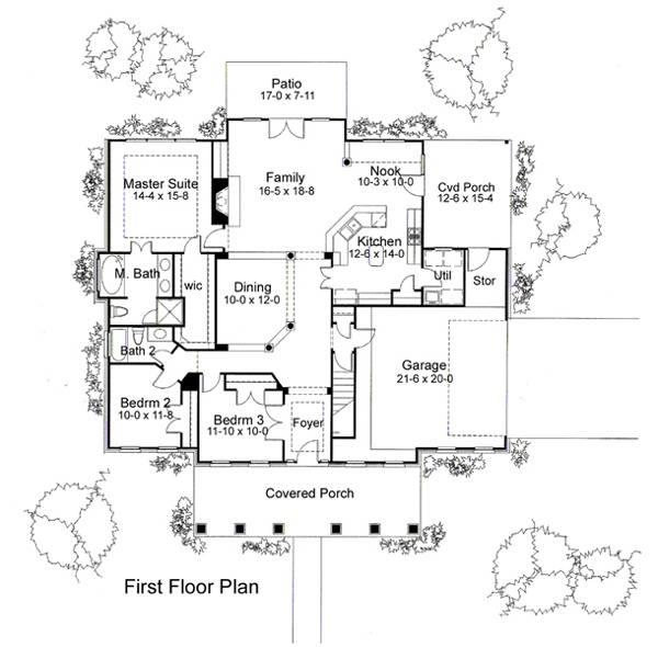 117-1010: Floor Plan Main Level