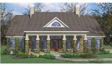 Main image for house plan # 20751