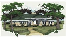 Main image for house plan # 20748