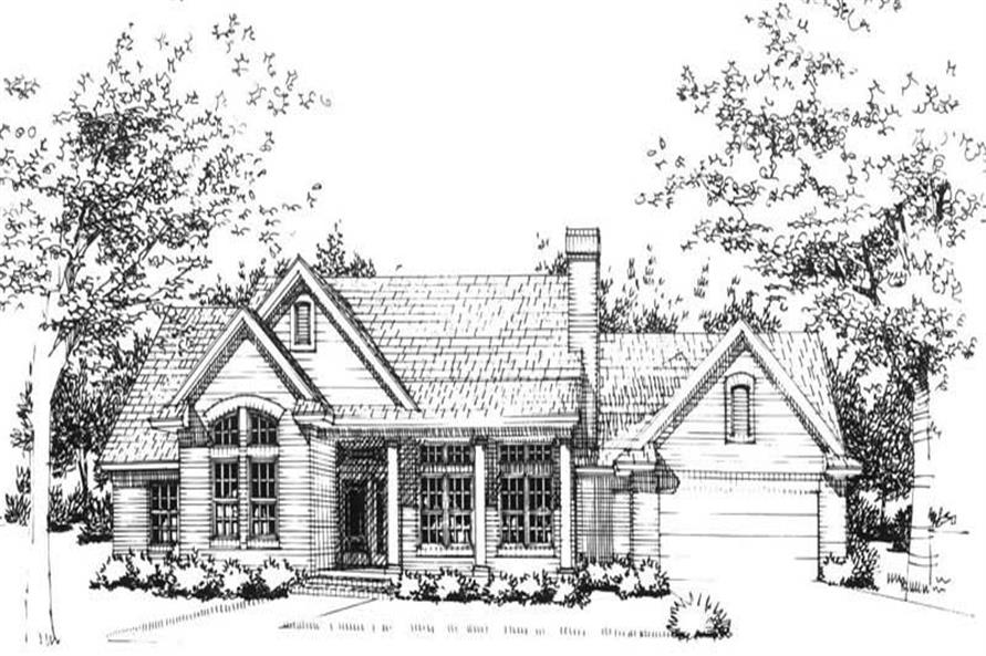 Main image for house plan # 20747