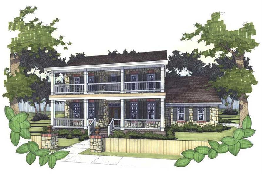 Main image for house plan # 20730