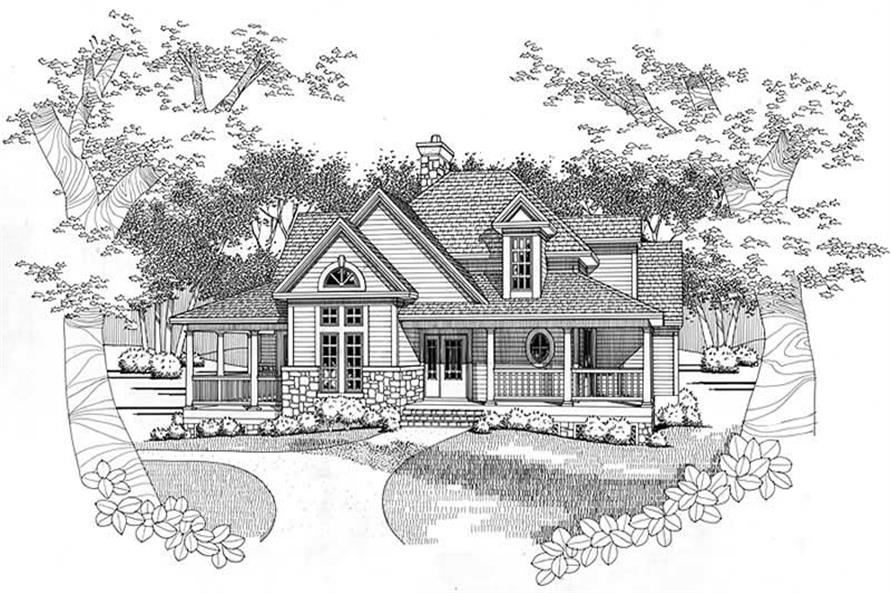 Main image for house plan # 20779