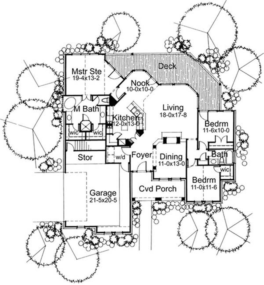 117-1018: Floor Plan Main Level