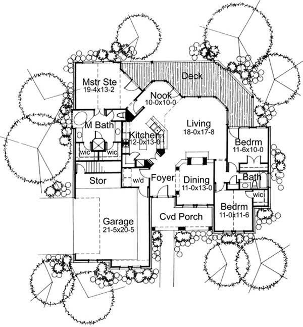 117-1018: Floor Plan Main Level