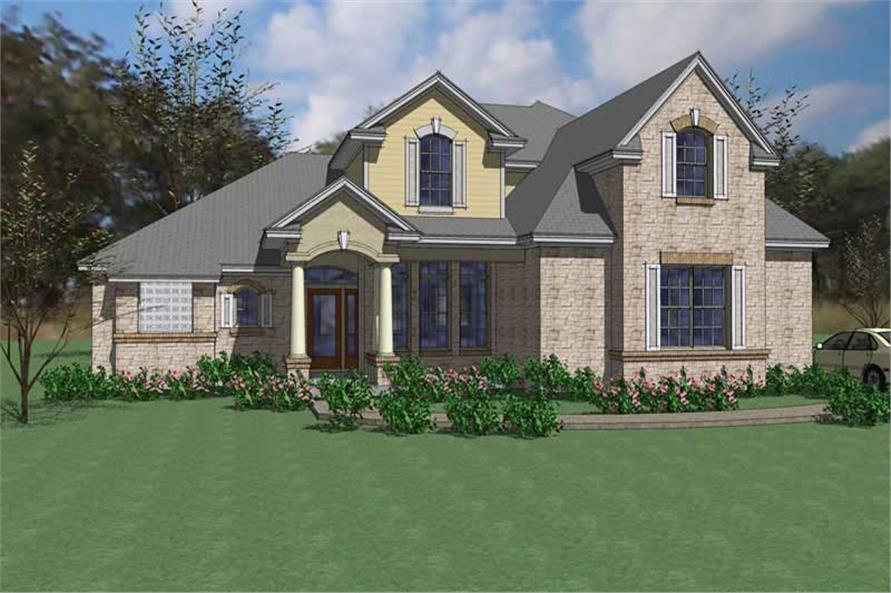 Main image for house plan # 20792