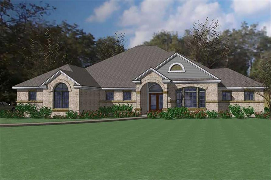 Main image for house plan # 20796
