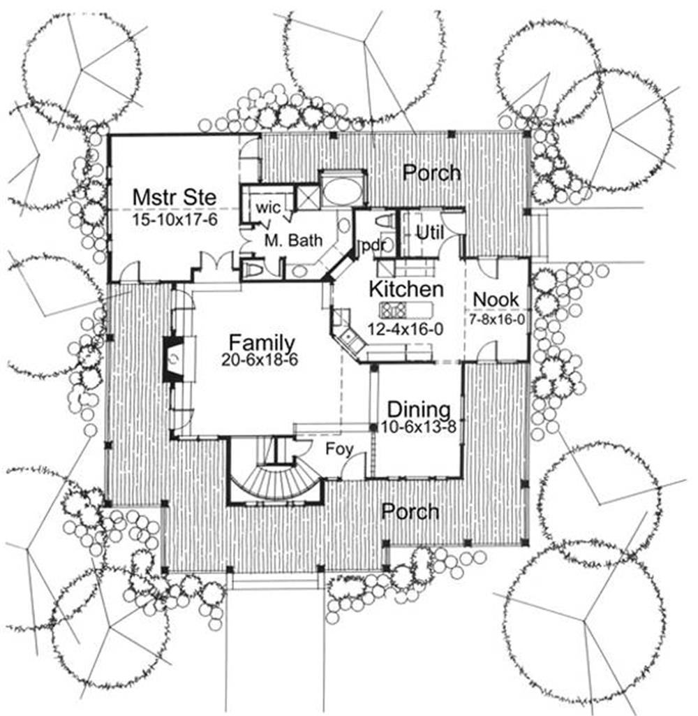 117-1030: Floor Plan Main Level