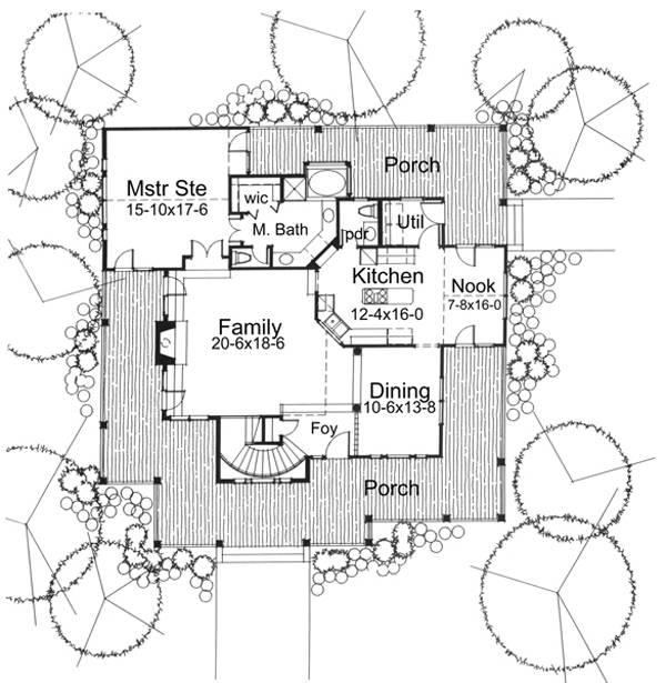 117-1030: Floor Plan Main Level