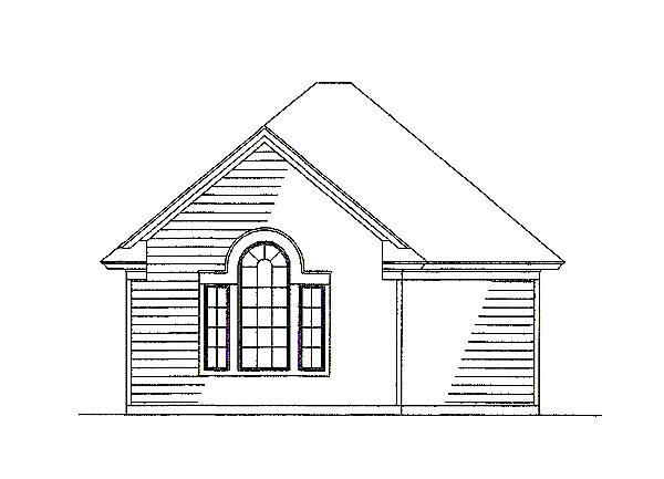 117-1030: Home Plan Other Image-Garage