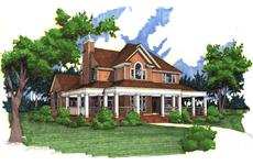 Main image for house plan # 20770