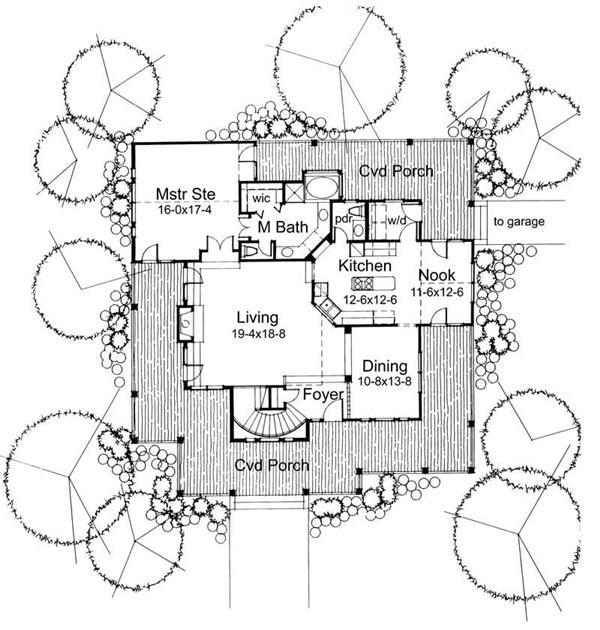 Main Floor Plan DW2112