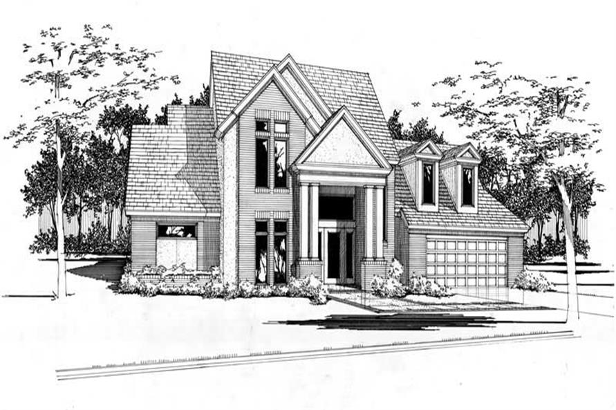 Main image for house plan # 20794