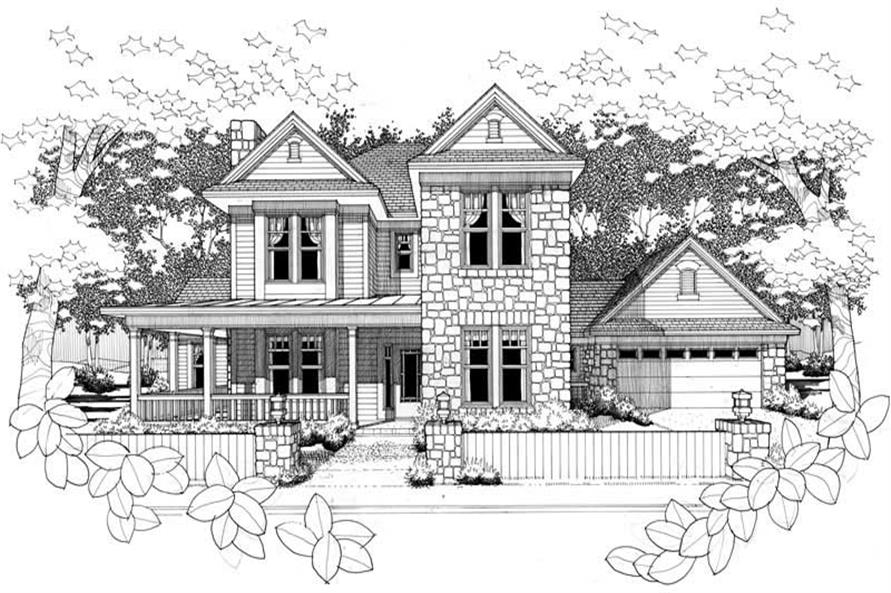 Main image for house plan # 20776