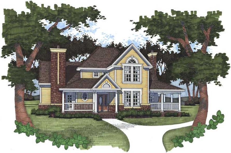 Main image for house plan # 20763