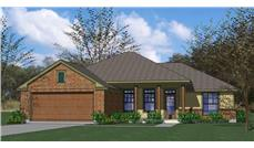 Main image for house plan # 20696