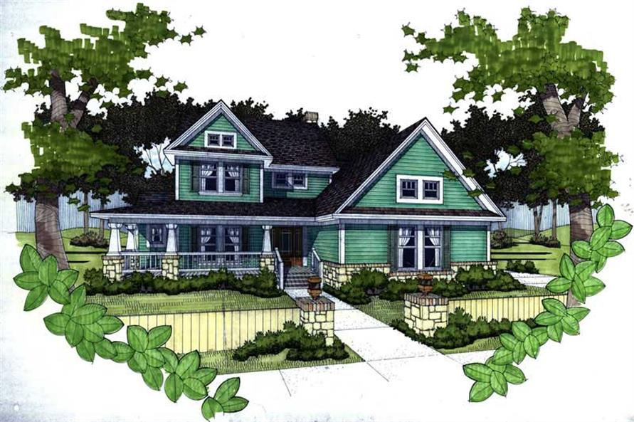 Main image for house plan # 20762