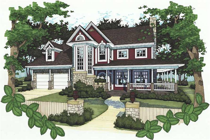 Main image for house plan # 20753