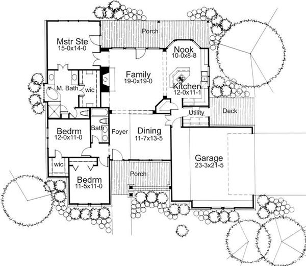 Main Floor Plan DW1779