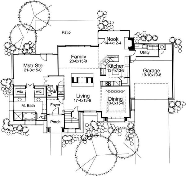 Main Floor Plan DW2394