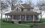 Main image for house plan # 20790