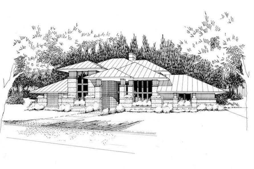 Main image for house plan # 20789