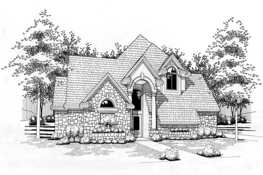 Main image for house plan # 20787