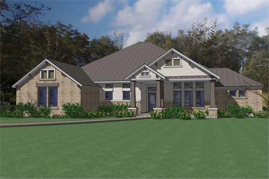Main image for house plan # 20798